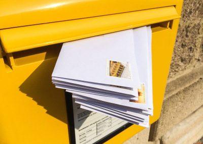 Personalisiertes Mailing