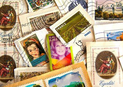 Die eigene Briefmarke